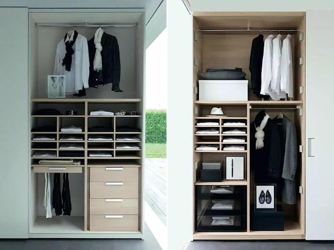 2700宽衣柜内部结构图