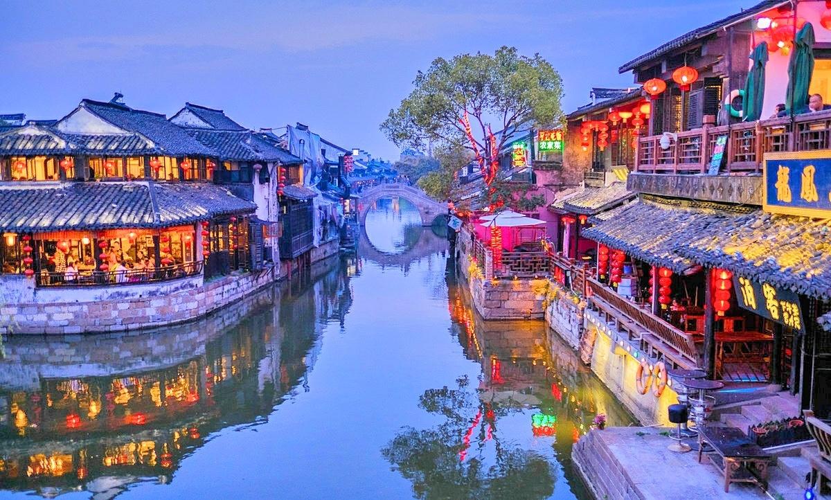 浙江省西塘古镇风景区