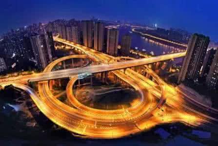 重庆立交桥夜景