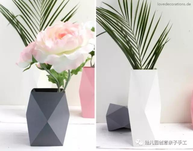 折纸:各有特色的花瓶,你更喜欢哪个?