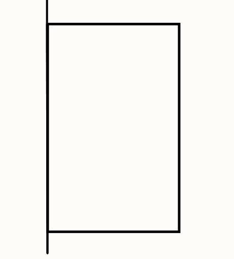 正方形最近这个边框