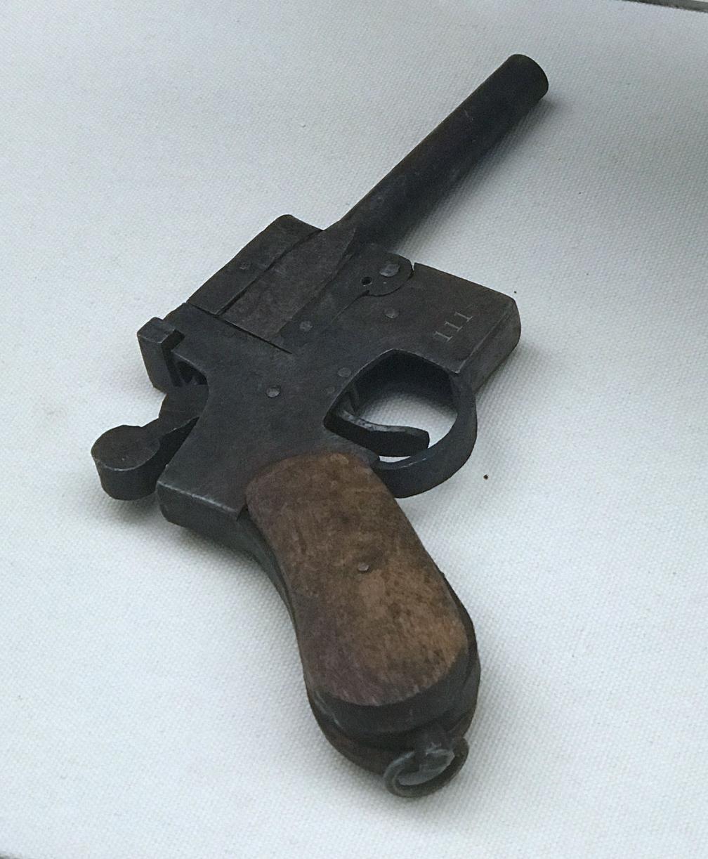 土枪支结构_八路军敌后武工队的屠龙刀是什么?撅把子土枪