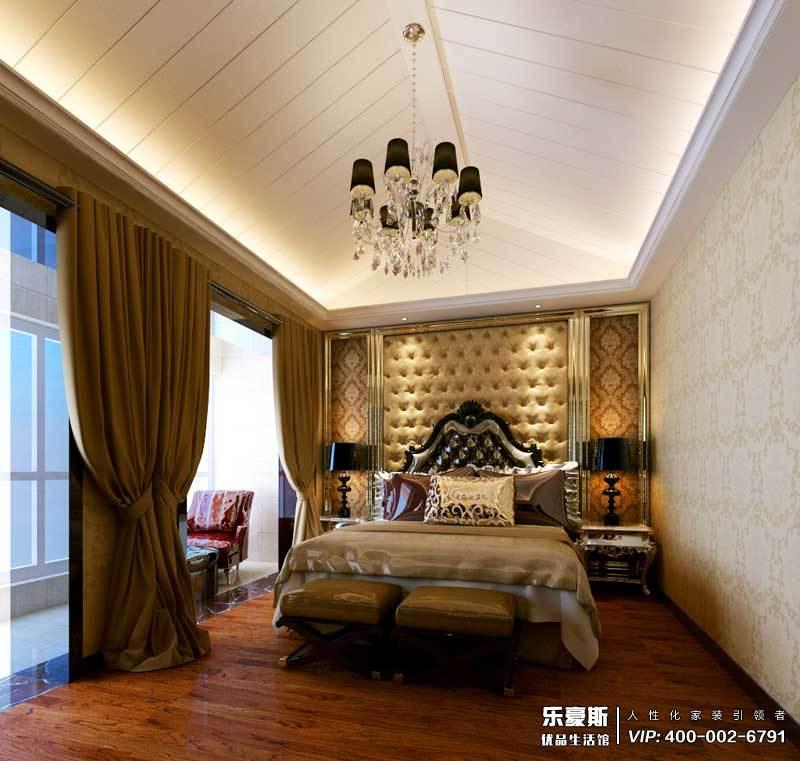 御河上院222平米跃层欧式风格卧室