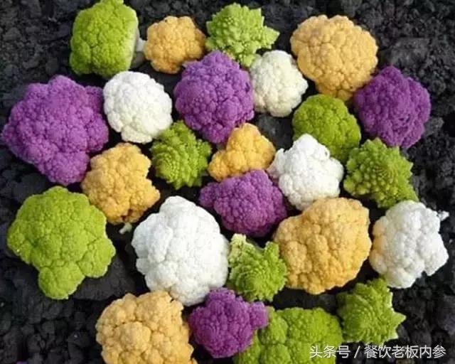 罗马花椰菜,又称宝塔花菜.