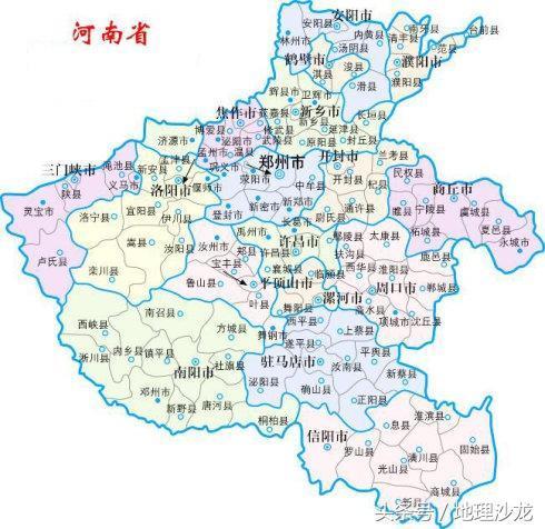 河南省面积16.