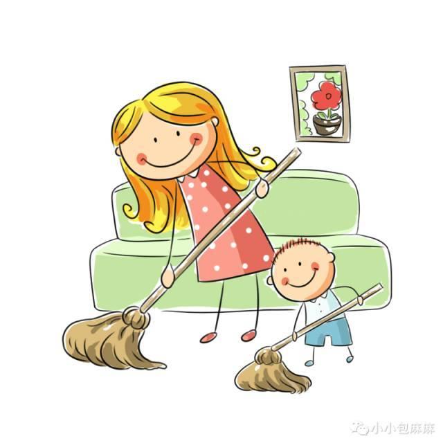 成功孩子的父母能意识到:让孩子做家务能提高他们的动手能力和学习