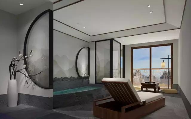 这家酒店车库直通房间!还有泰式spa,音乐水景厅图片