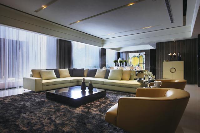 碧桂园别墅设计:现代简约风格,都市里的优雅情调