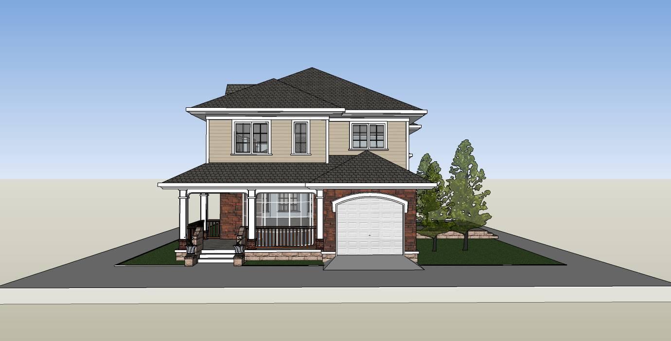 农村120平方三层房屋设计,再也不怕审批难了