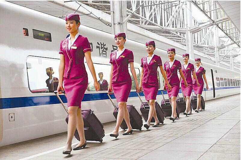 7长沙英蓝职业学校旅游服务与管理高铁服务方向