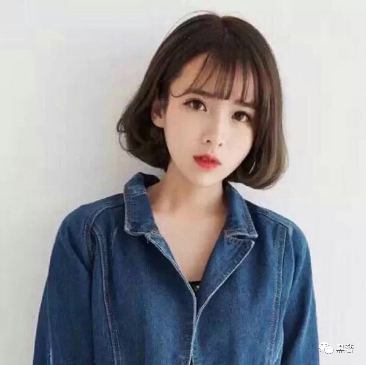 韩式面条烫发发型