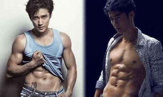 拥有八块腹肌的男明星 李晨还算不上是最强能力者