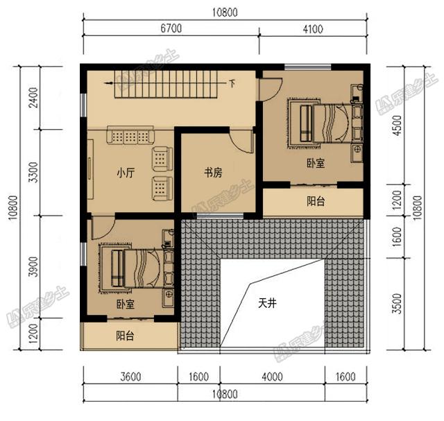 250平米欧式风格cad平面布置图