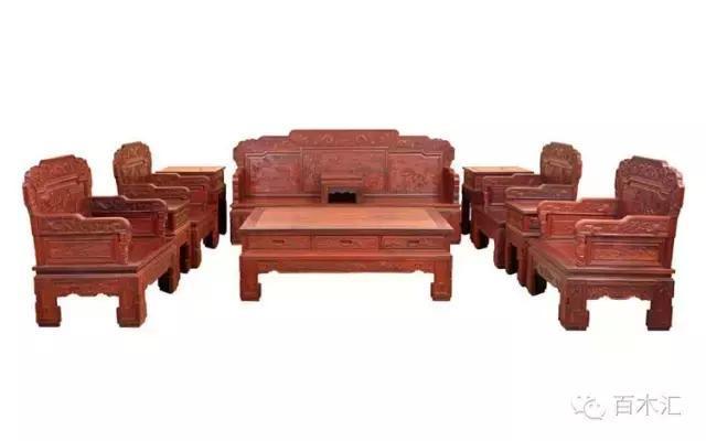 2017最新红木家具沙发款式大全,你能叫出几款名字