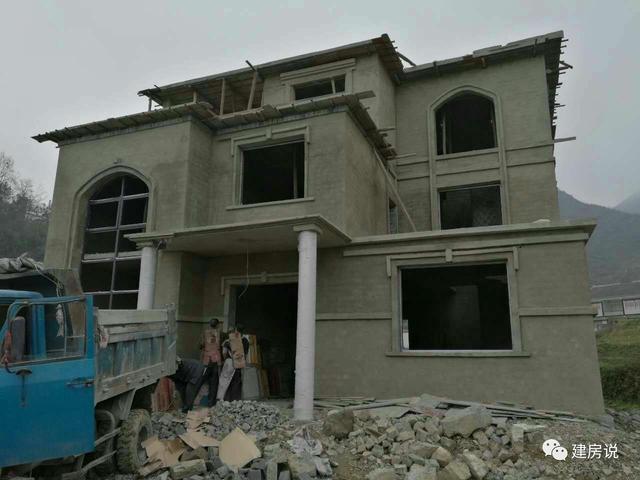11.7x12米三层农村别墅,建成后引来全村人围观