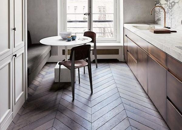 美宅客:你家木地板还在平铺?12种木地板铺贴分享