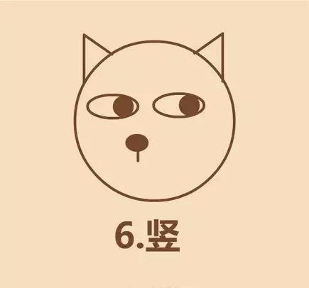 幼儿园亲子手工之简笔画:表情包大咖doge的画法