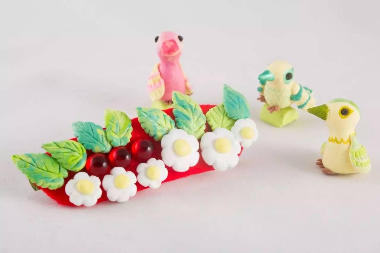 黏土人物手工制作兔子