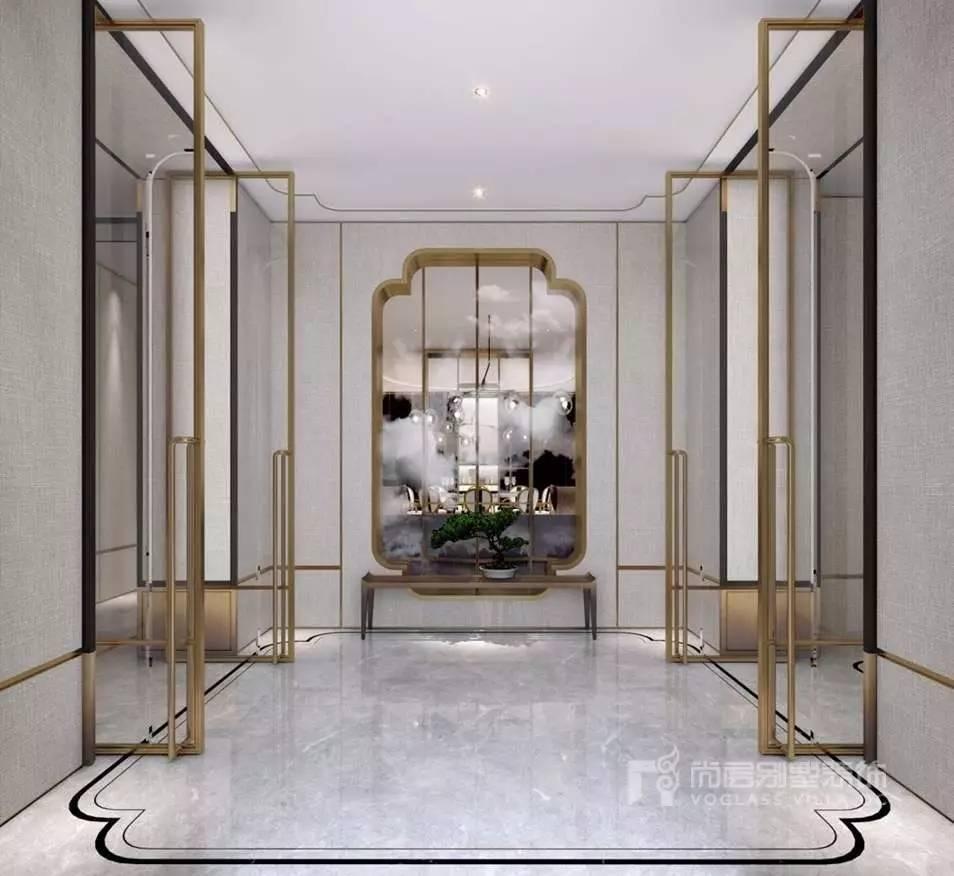 别墅装修中的新中式风格案例,您一定喜欢图片