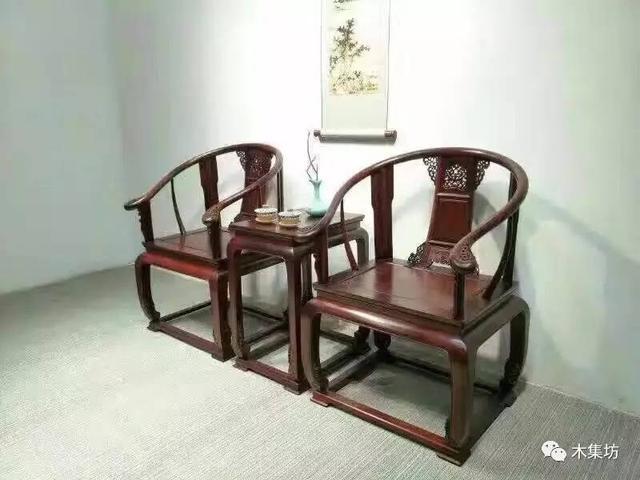 最美的圈椅要看比例,酸枝木家具