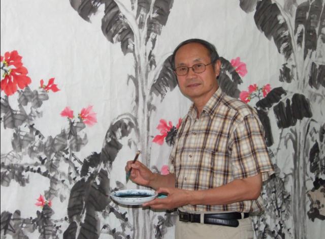 著名画家李智纲——仙风道骨入化境图片