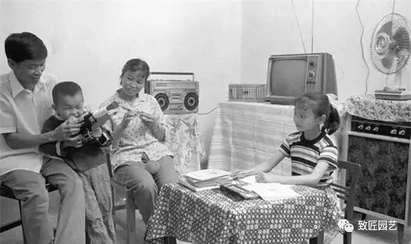 老照片 八十年代的纯朴中国