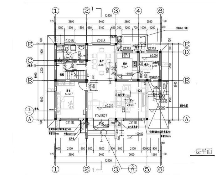 看看这16款三四十万农村轻型钢结构别墅设计效果图