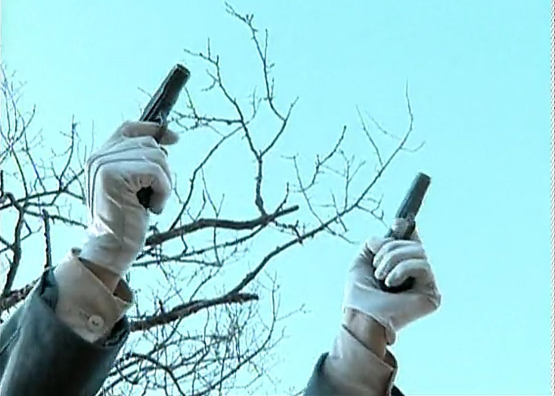 楚云飞送给李云龙的这把手枪,真的有雌雄之说吗