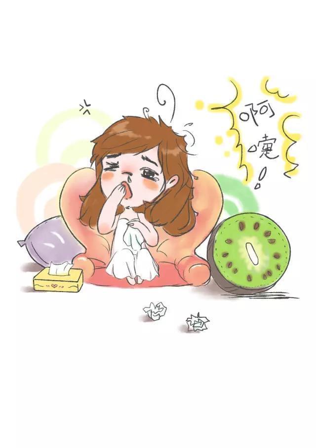 风热感冒 主要表现为发热重,轻微怕冷,鼻子堵塞,流脓鼻涕,咳嗽声重图片