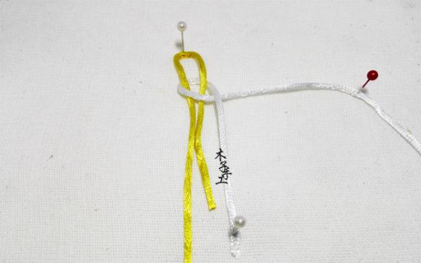 木子手工:手工diy, 中国结之凤尾锁结结编法图解