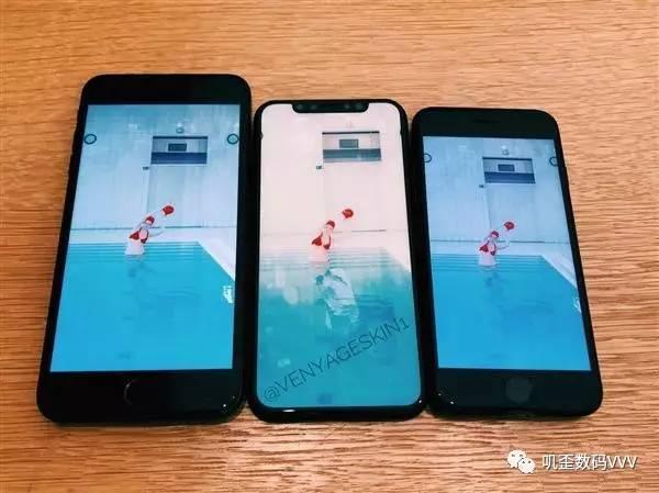 手绘iphone8边框