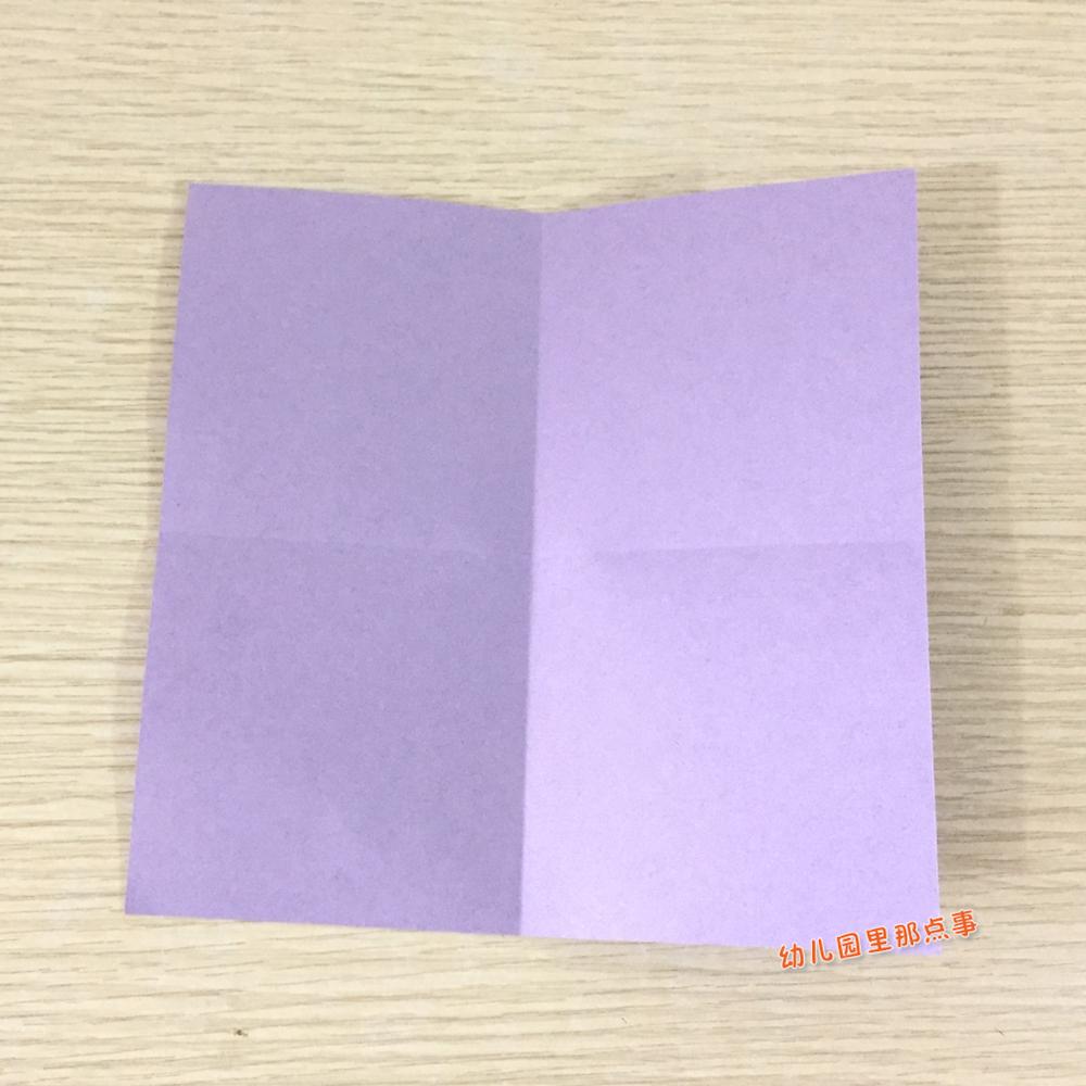 幼儿园亲子手工折纸diy之裤子
