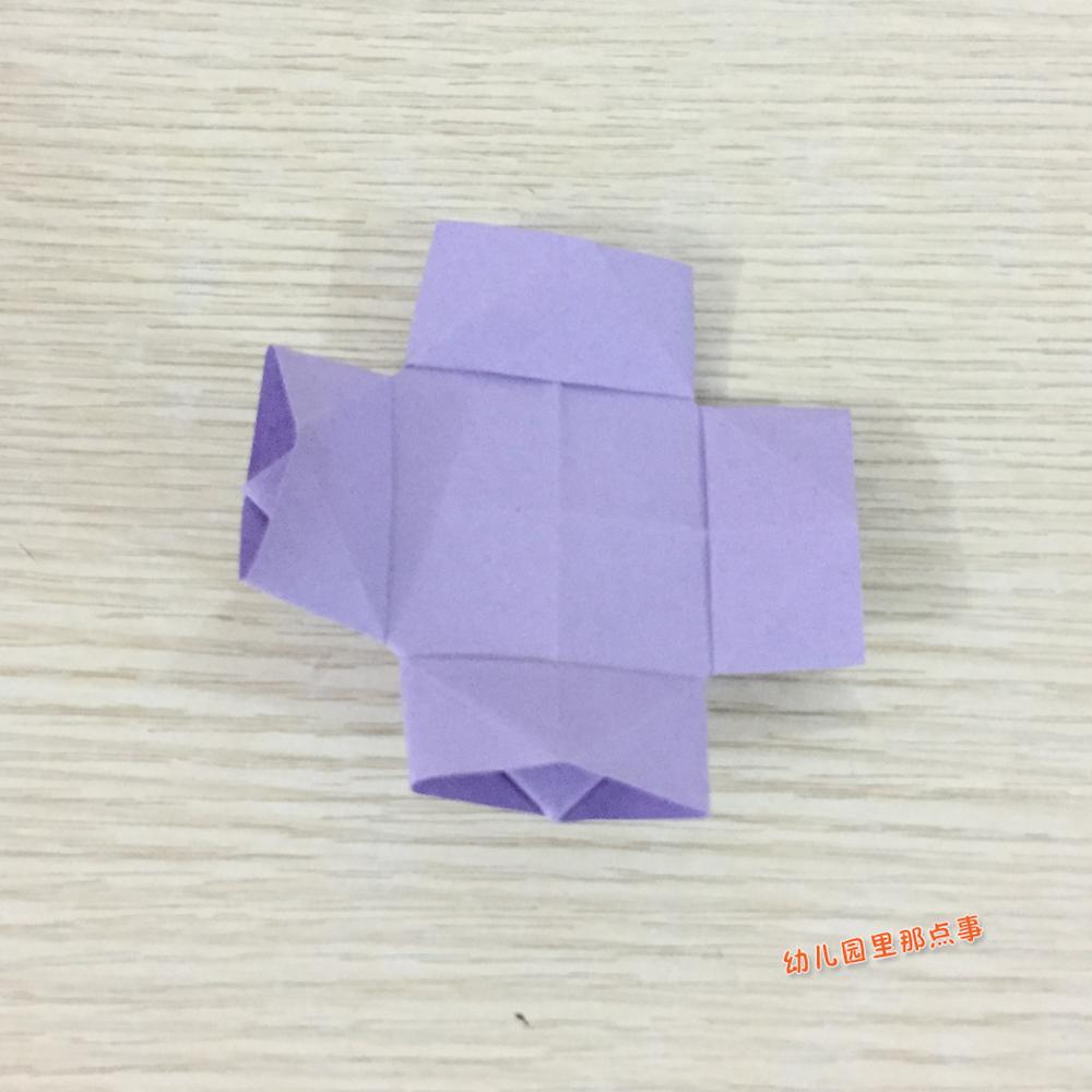 折出一只可爱的小鸭子 儿童手工DIY折纸_东方头条