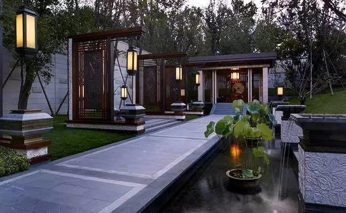 新中式建筑,美到骨子里!-郑州园林景观展