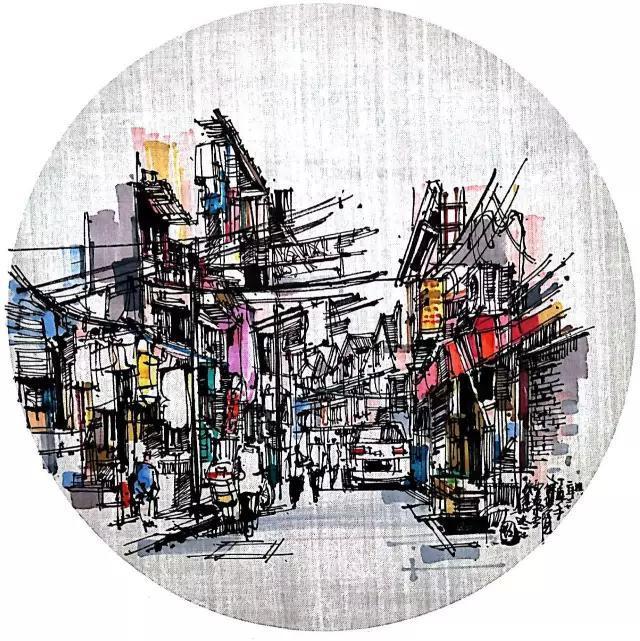 中国6位钢笔画顶尖高手的精细作品赏析