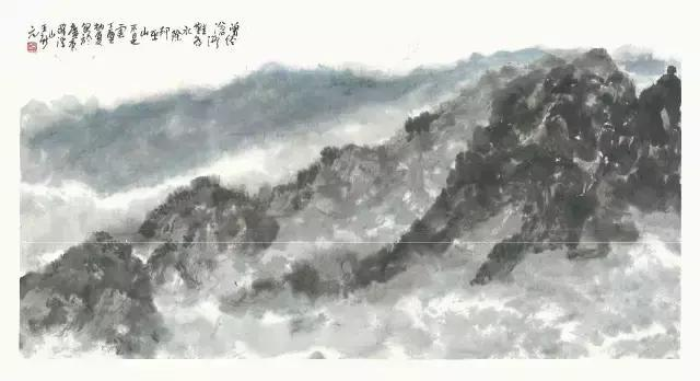 王新元全球艺术巡展作品欣赏----以散带泼、自由信笔