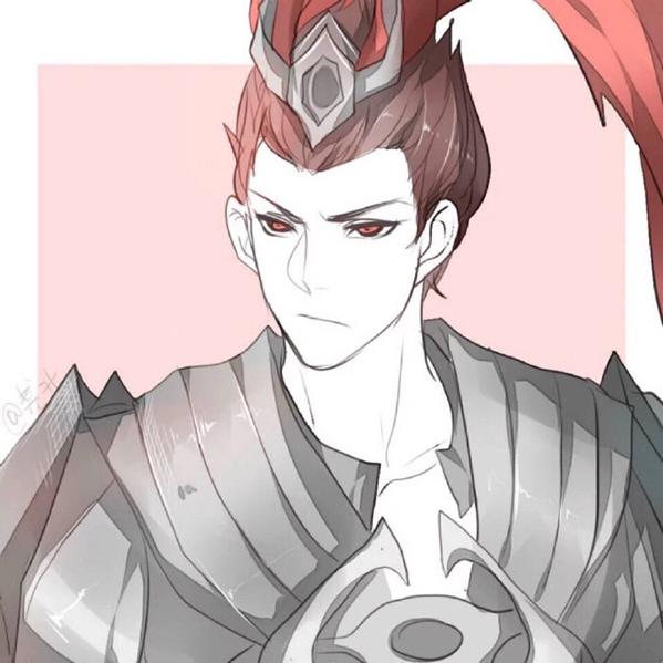 高清无水印的王者荣耀貂蝉吕布情侣头像大全