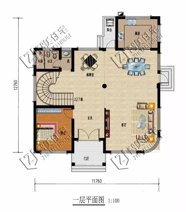 农村二楼外楼梯设计图