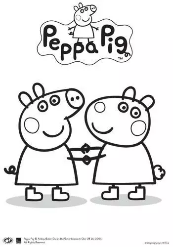 小猪佩奇全系列简笔画教程,孩子不爱都难!