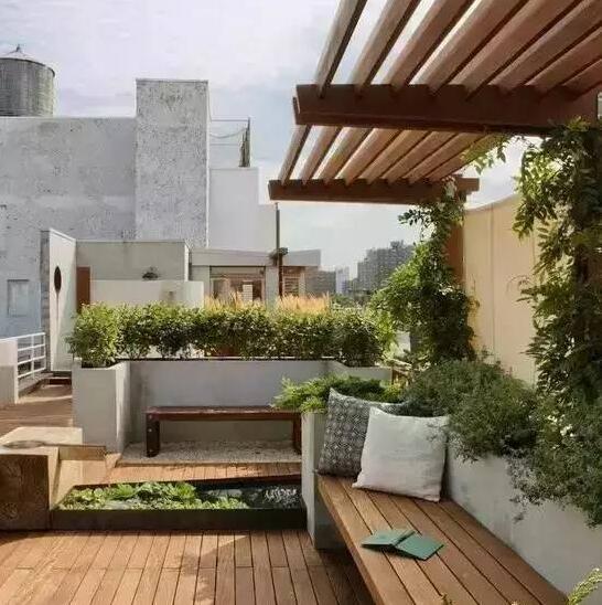 楼顶天台改造装修效果图