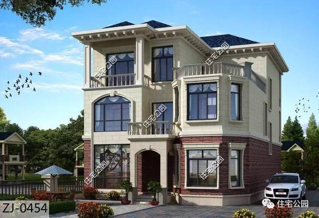 半坡现代别墅外观