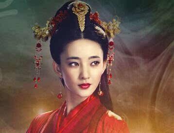 女星古装红衣造型,李沁霸气 赵丽颖小可人
