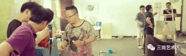 暑期大胆人体艺术_三尚艺术区暑期人体写生纪实