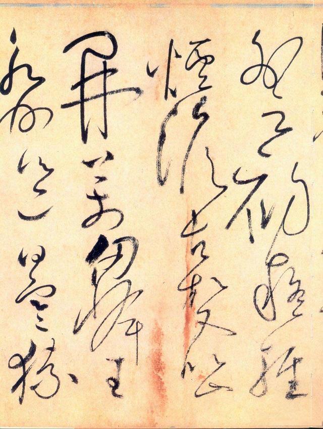 怀素书法欣赏:草书《自叙帖》,另送长卷墨迹全图图片