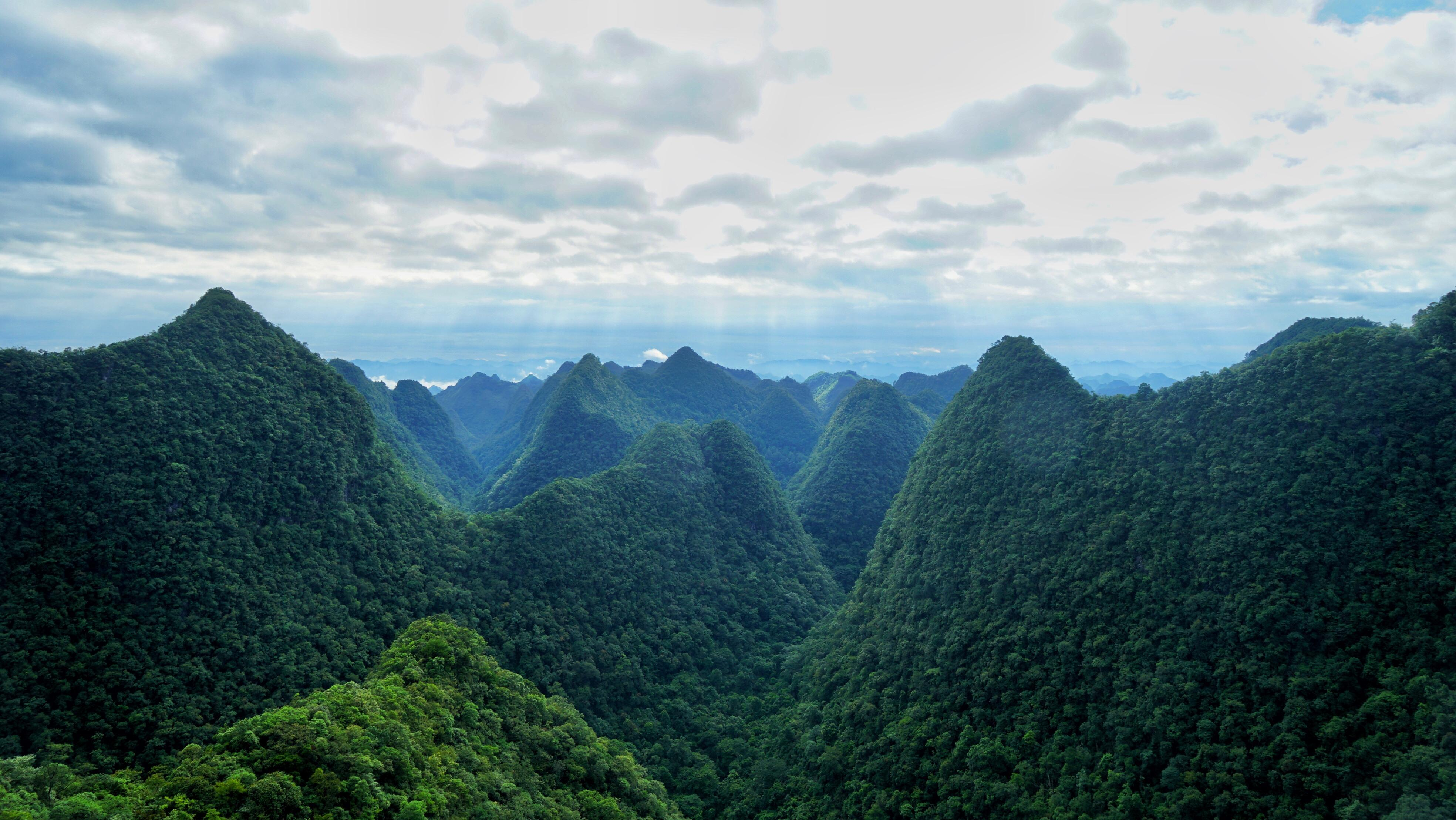 贵州隐藏仙境,入选世遗名录和选美中国