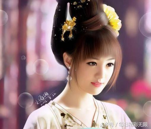 最受欢迎女星古装手绘画排名,赵丽颖排第一她最美