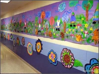 五种幼儿园走廊环创,不信没有一款戳中你的心