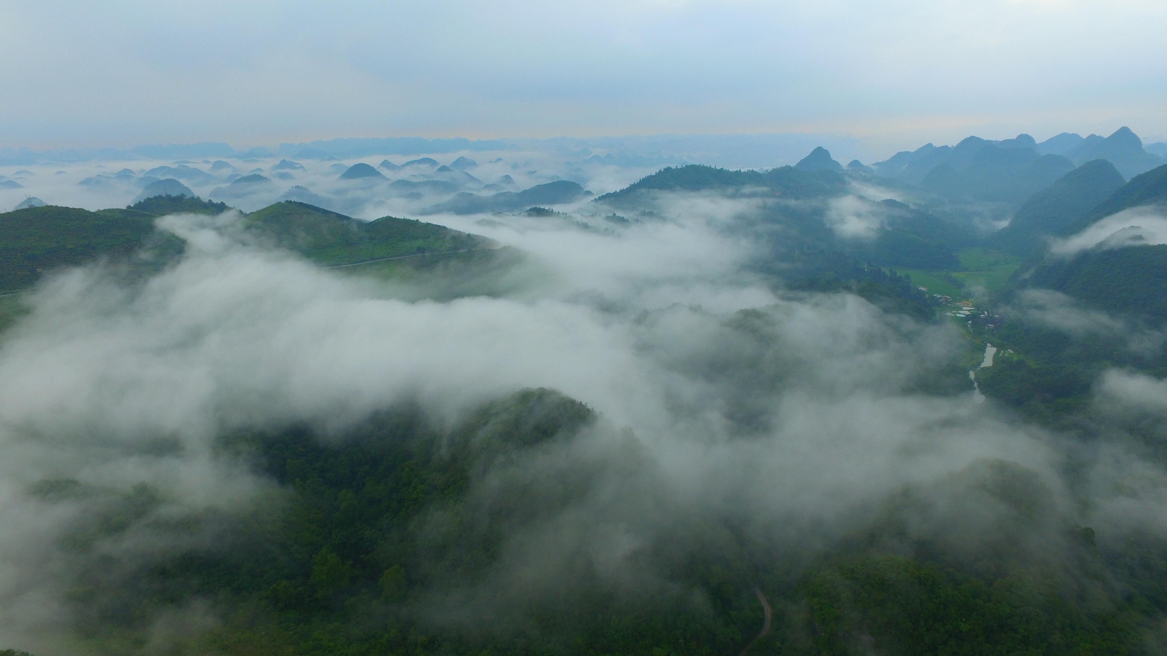 仙境_贵州隐藏仙境,入选世遗名录和选美中国