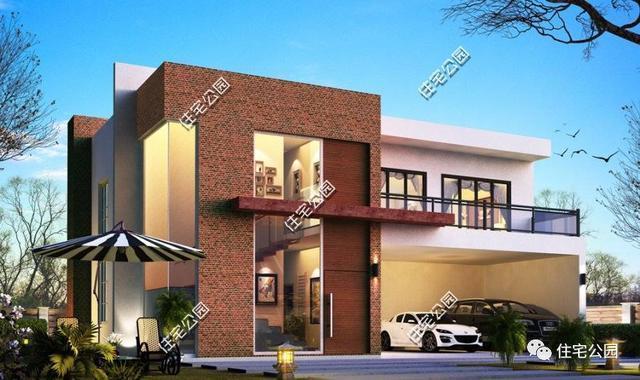 7套带大露台的农村别墅,主体造价不超20万?