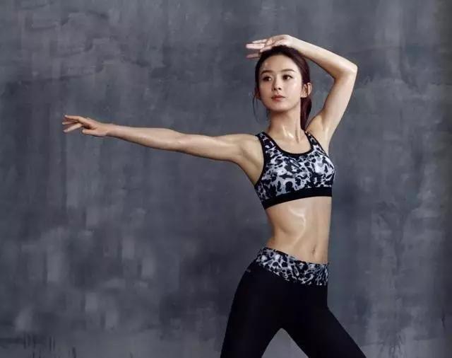 娱乐圈十大健身女神赵丽颖排第四,第一竟看身材!